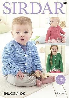 01f9f65f6829 Sirdar Snuggly 4PLY Baby Crochet Pattern 1900  Amazon.co.uk  Kitchen ...