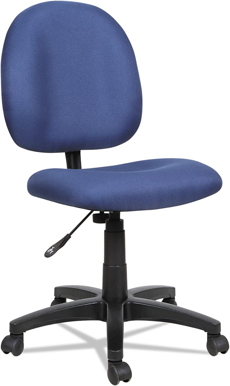 Alera ALEVT48FA20B Essentia Series Swivel Task Chair, Acrylic, Blue