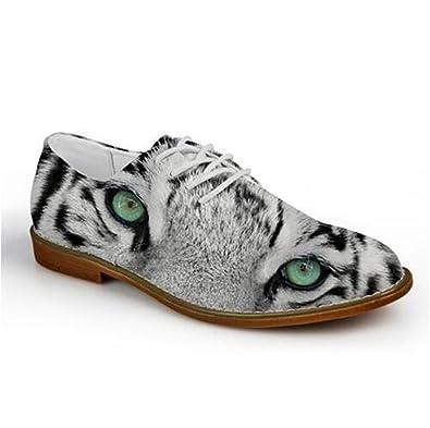 Thadensama Fashion Retro Moccasins Men Oxford Shoes Lace-Up Men Flat Shoes Soft Men Casual