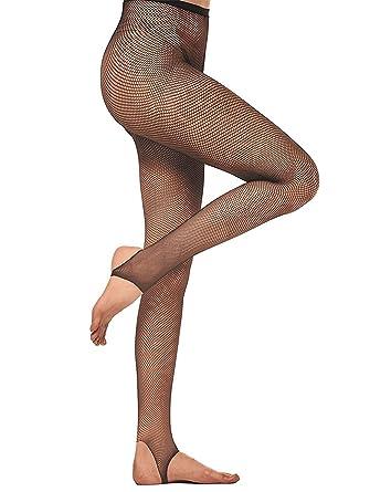 AMORETU Femmes Collants De Danse Cuisse Haute Chaussettes Lingerie Étrier  Bas Résille Sexy Fantaisie  Amazon.fr  Vêtements et accessoires 217446b5dce