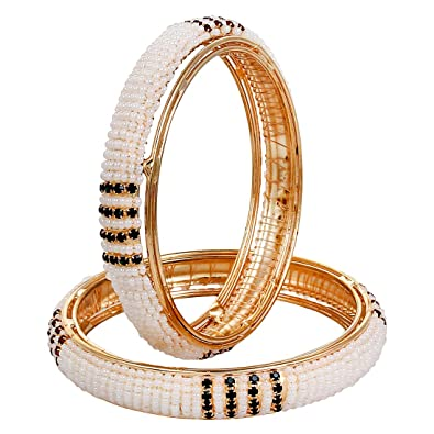 b4cf46df4356d YouBella Traditional Jewellery Gold Plated Bangle Set for Women ...