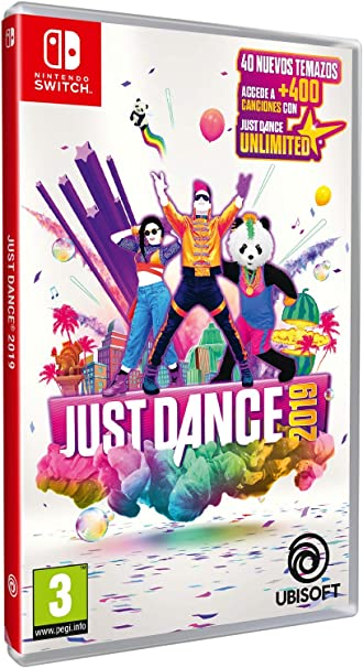 Pack Just Dance 2019 + Funda Nintendo Switch Azul (Edición ...
