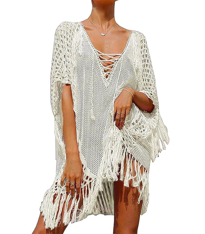 1dccc28fc69b3 Online Cheap wholesale Bestyou Womens Swim Cover up Tunic Crochet Knit Top  Beachwear Swimsuit Swimwear Cover-Ups Suppliers