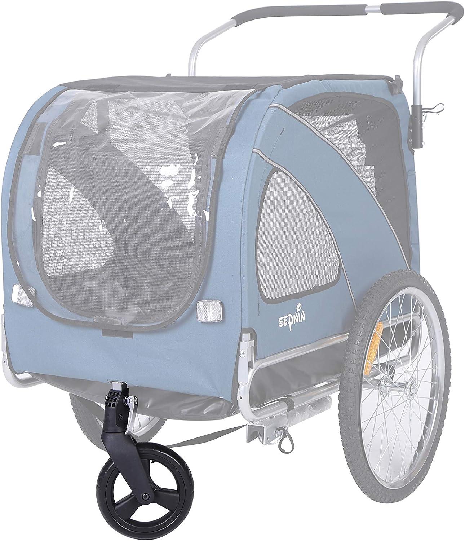 Leonpets - Remolque Universal para Bicicleta de 8 Pulgadas