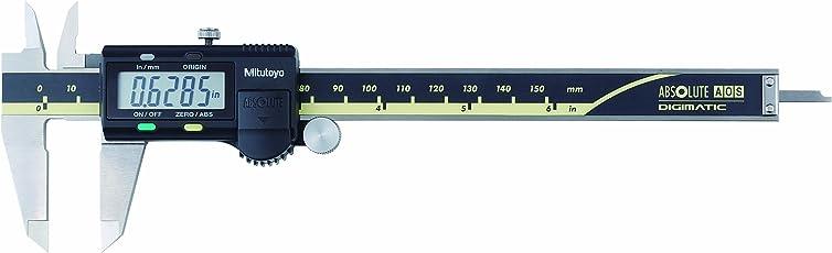 "Mitutoyo 500-171-30 Advanced Onsite Sensor Absolute Scale Digital Caliper, 0-6"" Range"