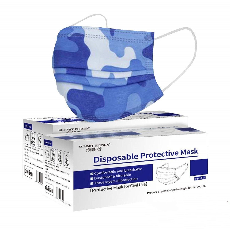MaNMaNing Protección 3 Capas Transpirables con Elástico para Los Oídos Pack 100 unidades 20200722-MANING-DP901