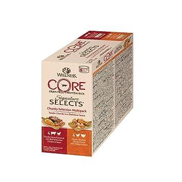 WELLNESS CORE Signature - Juego de 8 latas de Comida para Gato Mojado, sin Granos, 79 g: Amazon.es: Productos para mascotas