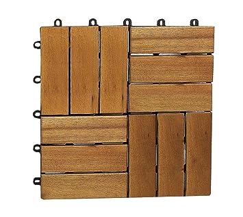 SAM Terrassenfliese 02 Akazien-Holz FSC® 100%, Einzelfliese ...