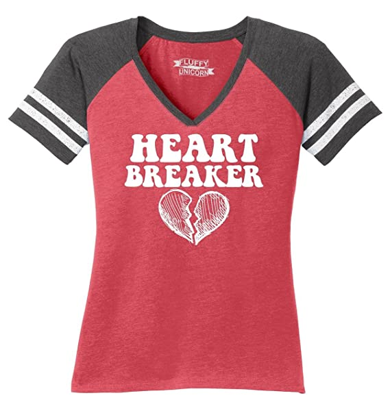 Amazon Com Comical Shirt Ladies Heart Breaker Cute Valentines Day