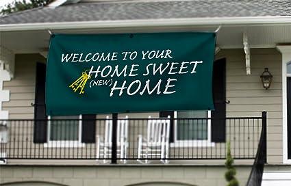 Nuevo hogar, Bienvenido a casa Banner - Home Sweet Home ...