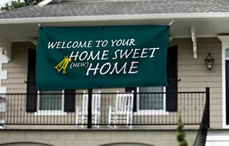 new home welcome home banner home sweet home housewarming party banner 2