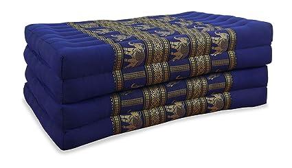 Asia Wohnstudio Plegable colchón con 100% Natural Relleno de ...