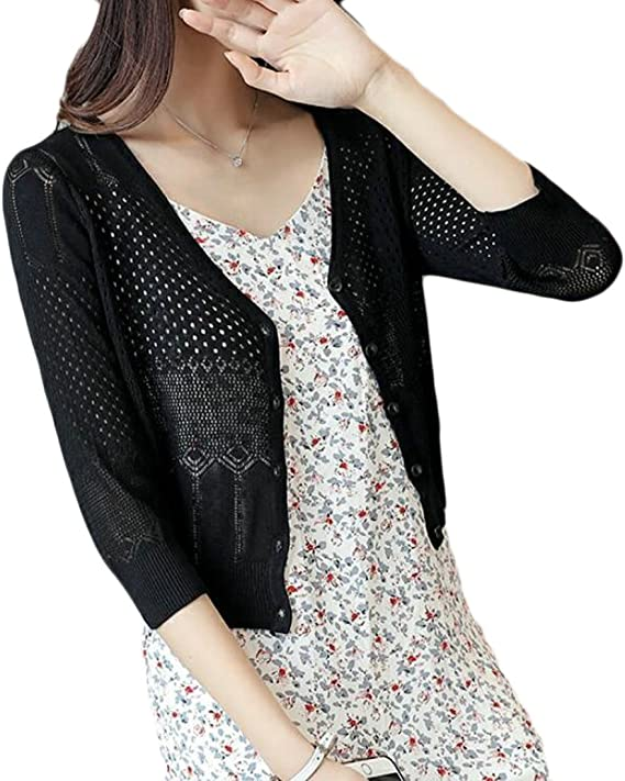 UUYUK-Women Uuyuk Big Boy Thin Sunscreen Summer Print Jacket Coat