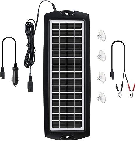 Amazon.com: Sunway - Cargador solar de batería de coche y ...