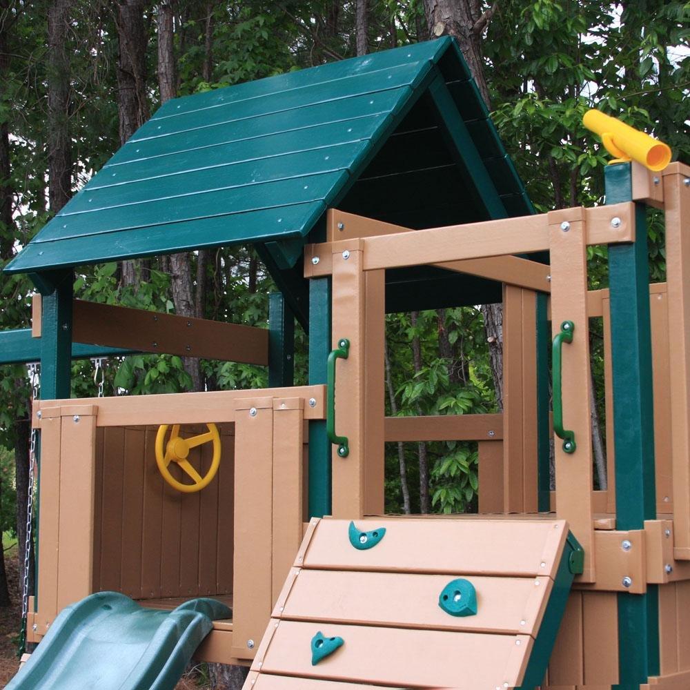 amazon com congo safari lookout and climber playsystem green