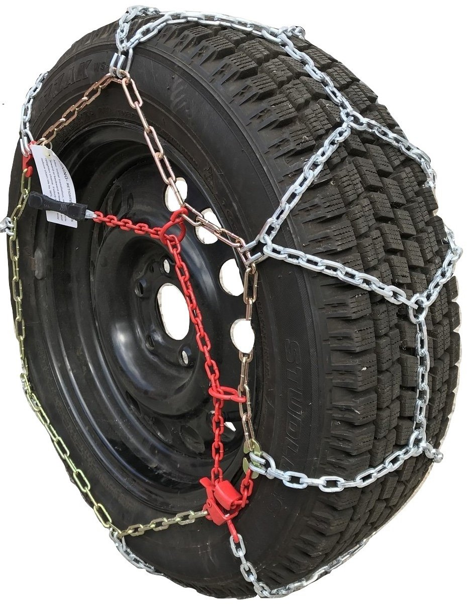 TireChain.com TUV 1553 Diamond Tire Chains Car and Minivan, priced per pair