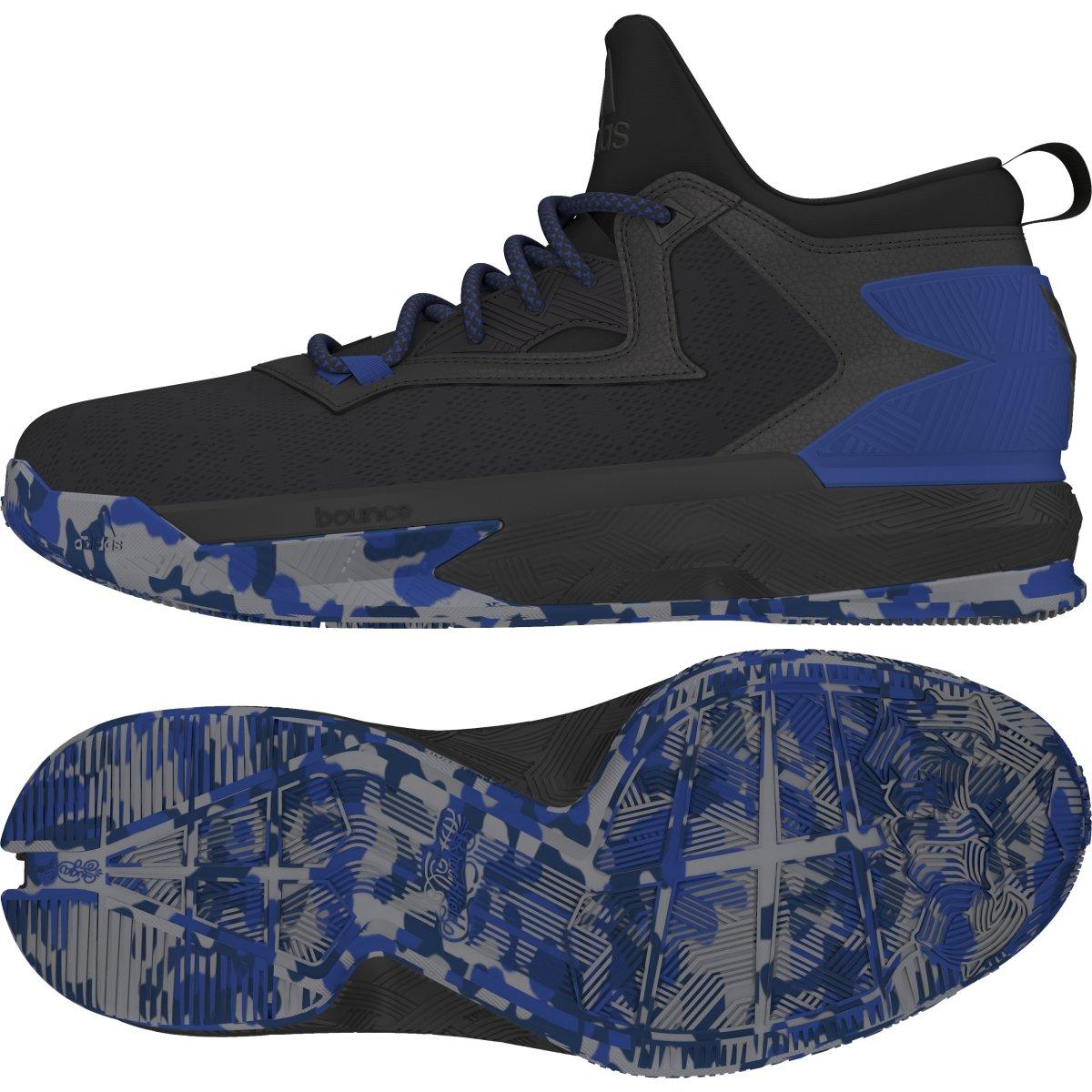 detailed look 74687 cd065 Galleon - Adidas D Lillard 2 Basketball Shoe - CblackScarleBlack - Mens -  9.5