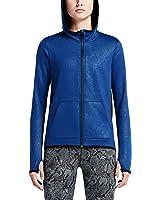 Nike Women's All Time Tech Vixen Full Zip Hoodie, Blue