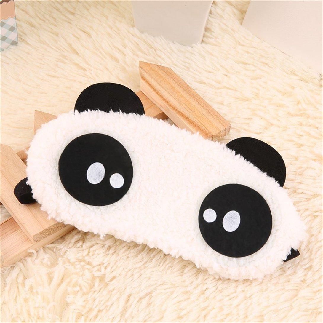 Baynne Cute Panda Sleeping Face Eye Mask Blindfold Shade Traveling Sleep Eye Aid