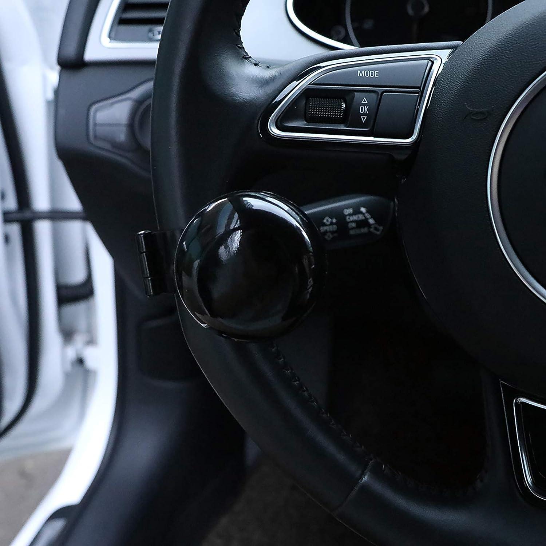 Onever Lenkrad Knopf Spinner Universal Fit Lenkrad Power Ball Griff F R Auto Fahrzeug Auto