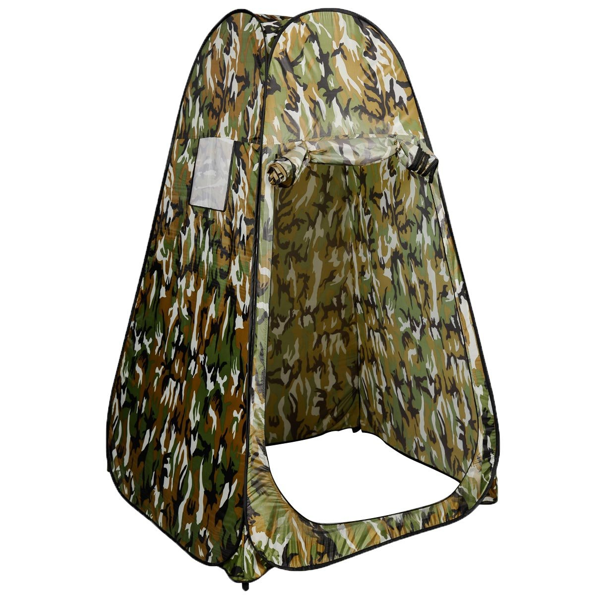 Amazon.com Super buy Portable Camo Changing Tent Pop-Up Privacy Room Bathing Toilet Shower Outdoor C&ing Shelter w/ Carrying Bag (Camouflage) Sports u0026 ...  sc 1 st  Amazon.com & Amazon.com: Super buy Portable Camo Changing Tent Pop-Up Privacy ...
