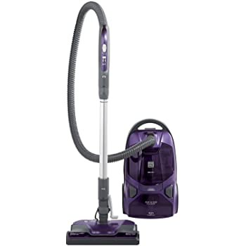 Amazon Com Bissell Zing Bagged Canister Vacuum Maroon