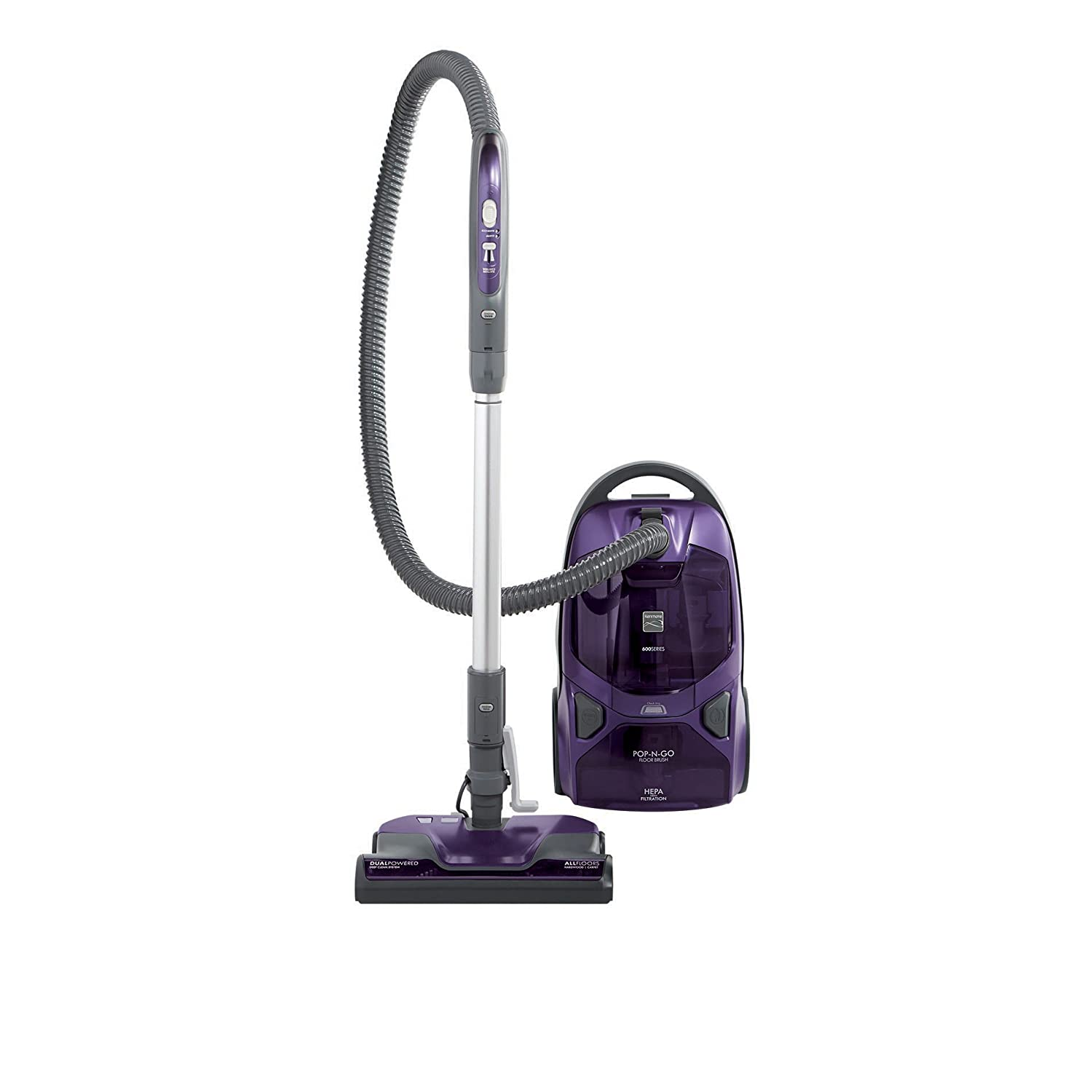 Kenmore 81614 Pet Friendly Lightweight Bagged Canister Vacuum with Pet PowerMate HEPA