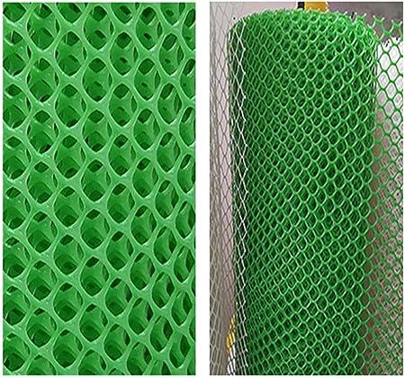 ZGQSW Red de Plástico Red de Protección del Césped Red de Seguridad for Niños Estacionamiento Estacionamiento Pendiente Refuerzo Jardín Vallas Redes Cría Malla Verde Se Puede Personalizar: Amazon.es: Hogar