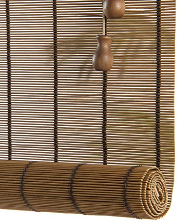 Persianas Enrollables de Jardín al Aire Libre, Parasol Enrollable para Pergola Balcón del Patio Trasero, 85cm / 105cm / 125cm / 135cm / 140cm de Ancho (Size : 125×140cm): Amazon.es: Hogar