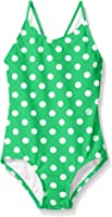 Kanu Surf Girls' Suzie Polka Dot 1-Pc Swimsuit