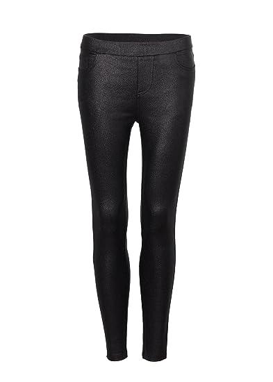 9248f78c5be5b Womens Black Glitter Skinny Fit Pants Jeggings - Size Medium at ...