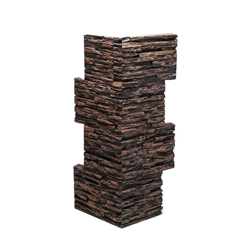 BuyFauxStone FREE SAMPLE Lava Rock Wall Panel MOCHA