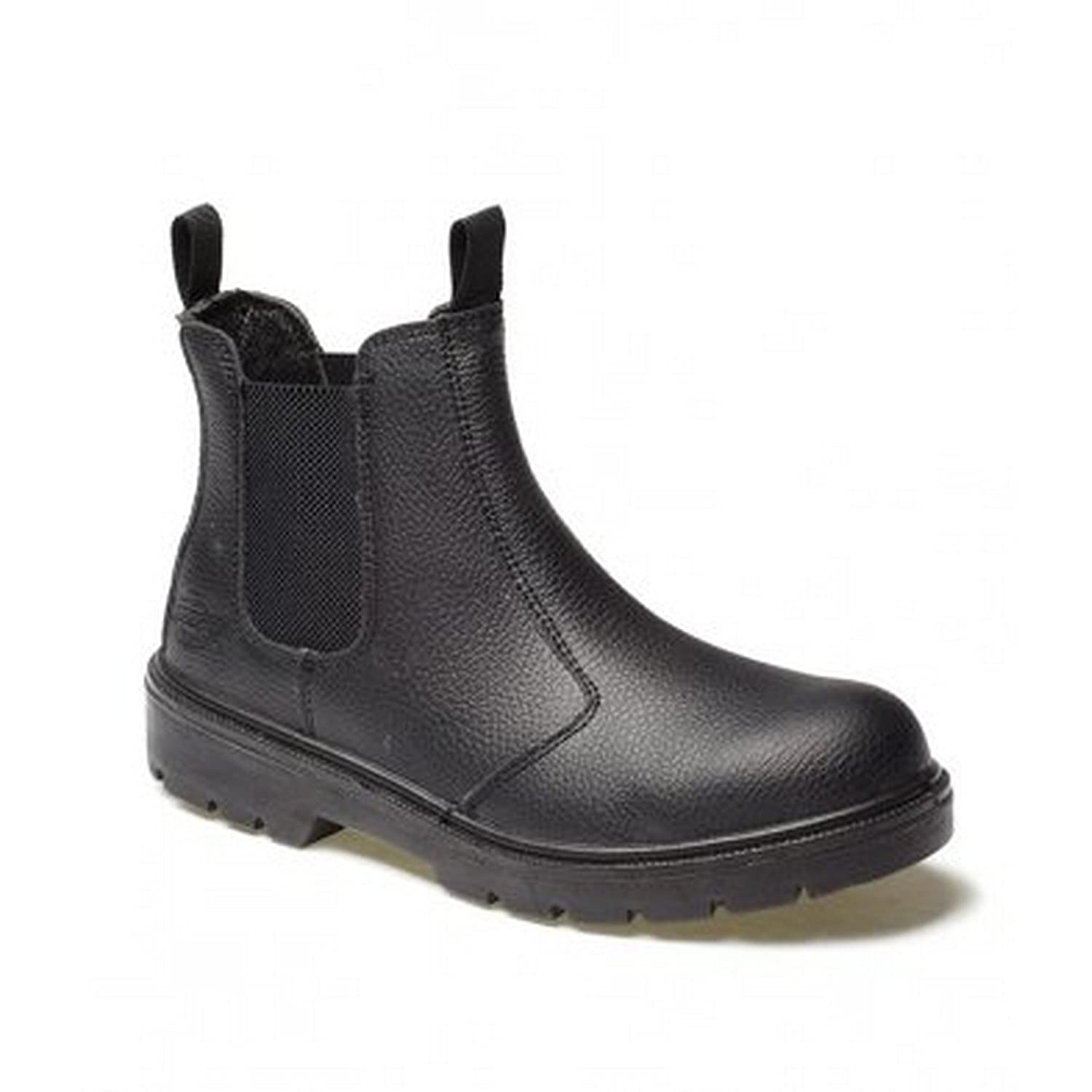 fd5397418d38 Dickies FA23345 BR 9 High S1-P Safety Dealer Boots Brown Size 43   Amazon.co.uk  DIY   Tools