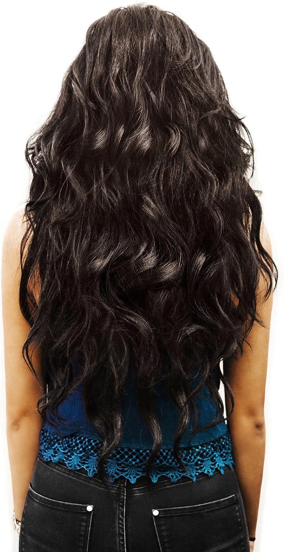 Extensión de cabello 50 cm en el color marrón de la marca MyBeautyworld24   Extensiónes de pelo Cabello largo