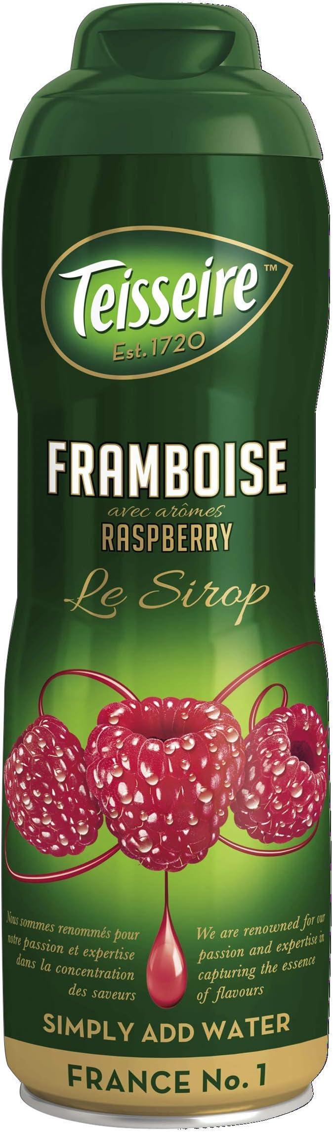 Teisseire Sirop Frambuesa 60Cl: Amazon.es: Alimentación y bebidas