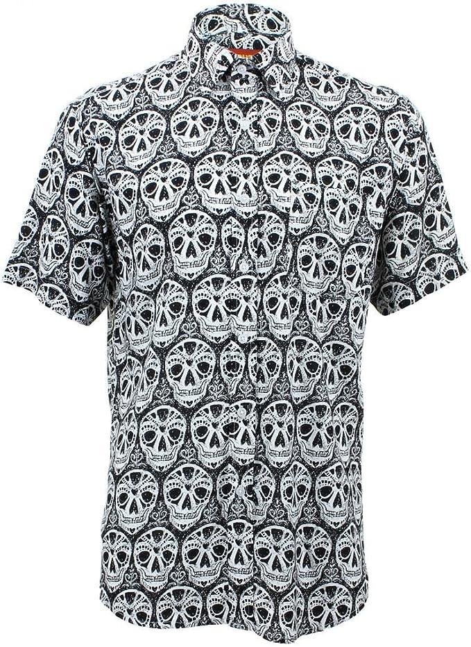 Loud ORIGINALS Corte Normal Camisa manga corta - Mexicano calaveras