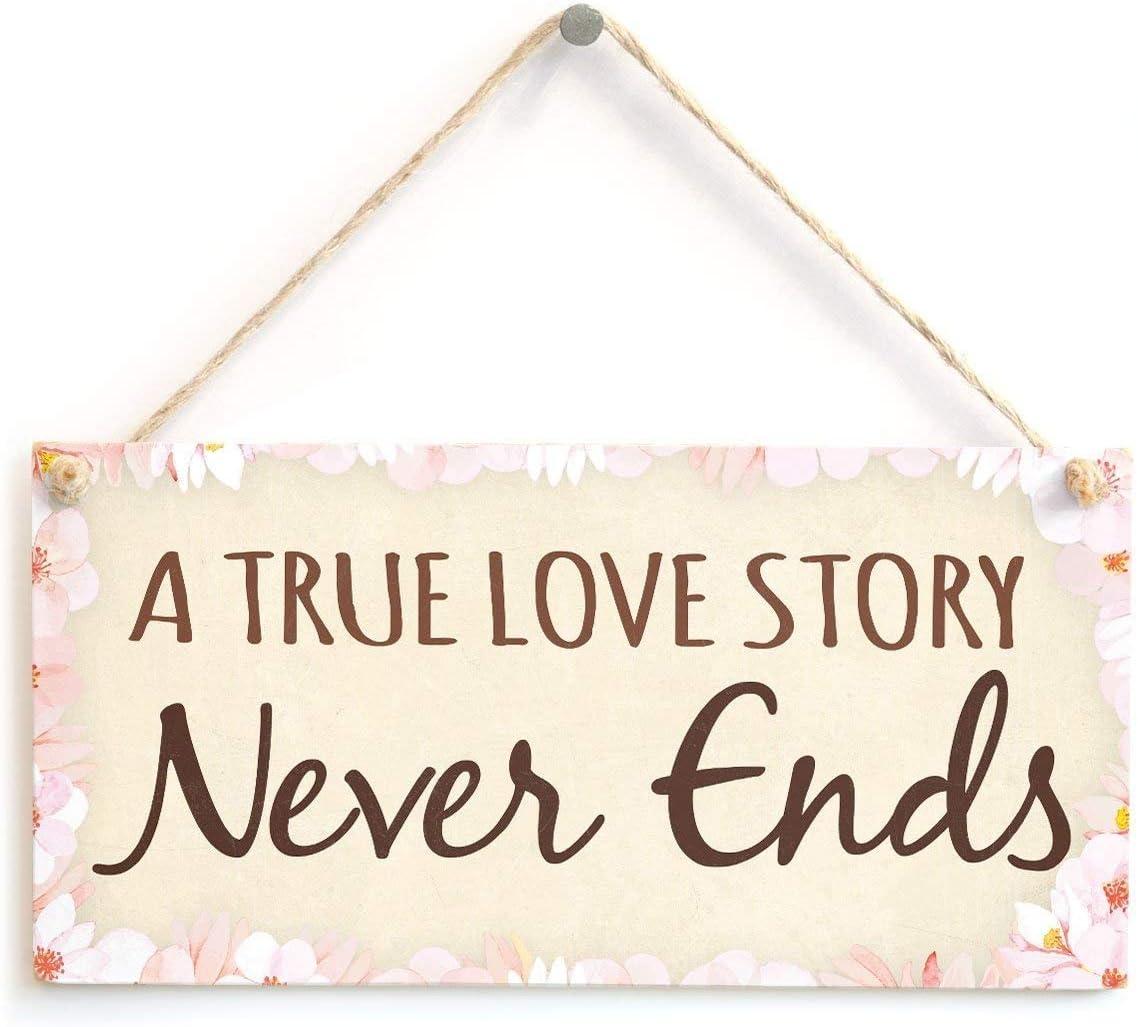 Meijiafei A True Love Story Never Ends - Romantic Sign Plaque 10