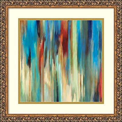 Amazon.com Framed Wall Art Print Aurora II , Z Gallerie by
