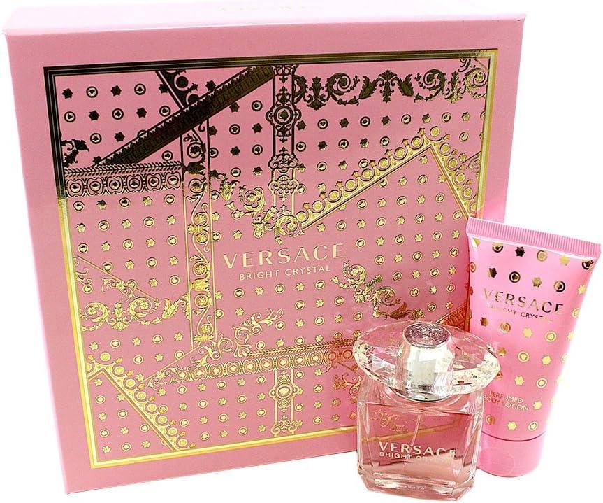 Versace Bright Crystal edt Spray y perfumado Loción Corporal En Estuche, 80 ml: Amazon.es: Belleza