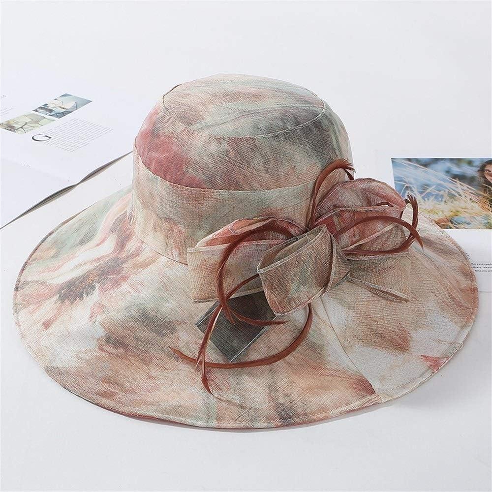 Color : E GXF New UV Protection Sunshade Ladies Summer Travel Wild Sun hat