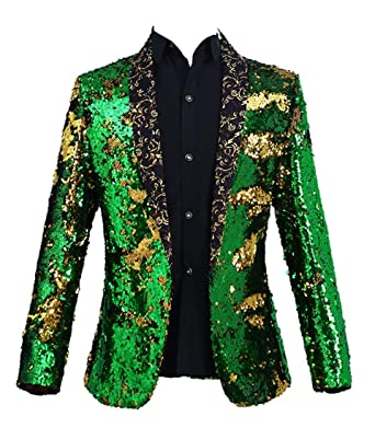 Amazon.com: M&S & W - Chaqueta para hombre, diseño de rosas ...