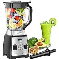 Batidora de Vaso, Acekool Licuadora para Verduras y Frutas BC2 2L, 4 Programas Preestablecidos 8 Velocidades Ajustable 8…