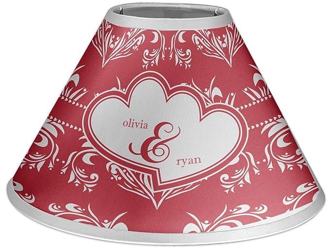 Amazon.com: Corazón Damasco lámpara sombra (personalizada ...