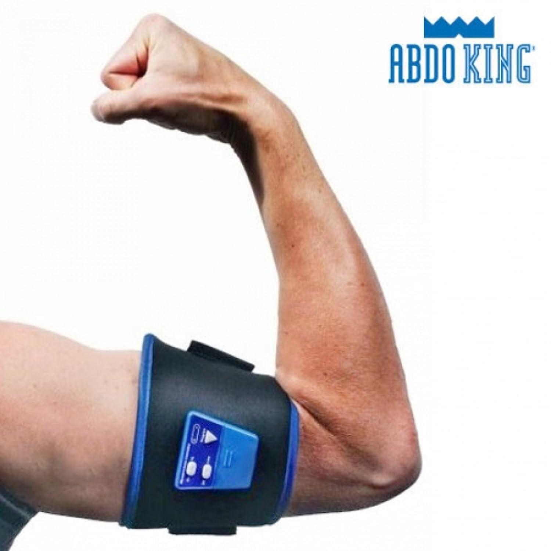 Talla /Única Apolyne Abdo King Redux Cintur/ón Electroestimulador Negro Unisex Adulto
