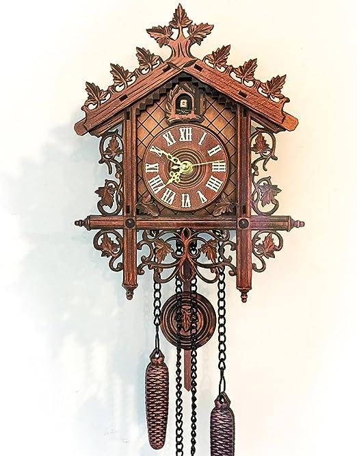 Amazon.com: Wall Cuckoo Clocks Forest Wooden Cuckoo Clock Forest ...