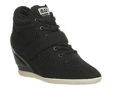 Ash BEEBOP Noir - Livraison Gratuite avec  - Chaussures Basket montante Femme