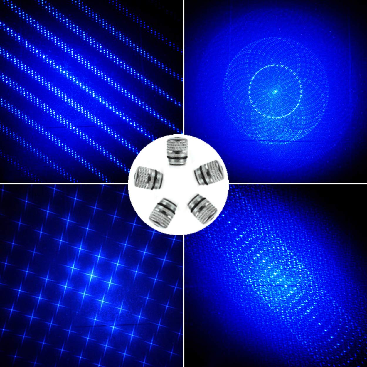 High Power Blue Light LED Pointer Demonstration Projector Laser Outdoor Tourism Camping Fishing pet Toys Education Multimedia Teaching Sand Table Sales Analysis Pointer Pen