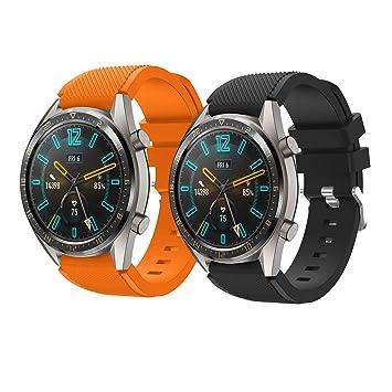 TMCCB Correa para Huawei Watch GT/Watch GT2 46mm Pulsera ...