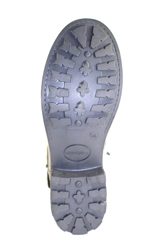 Oak & Hyde, Damen Stiefel grau & Stiefeletten grau grau Stiefel 4b4331