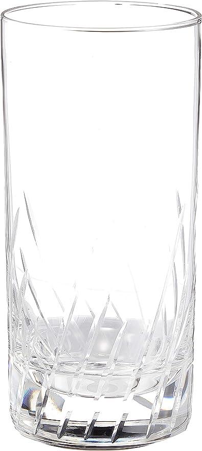 アデリアタンブラーハイボールグラスクリア355mliラインiF3カット12オンス食器洗浄機対応日本製4013